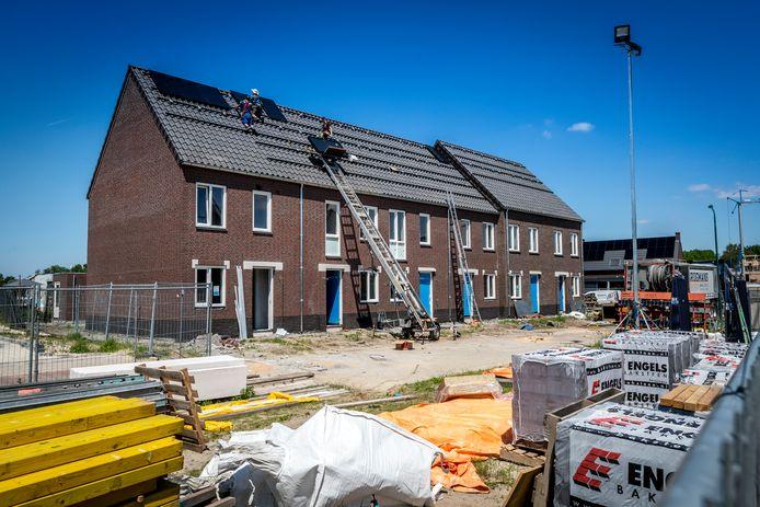 Bouw sociale huurwoningen bij Vogelenzang en Nieuwenhof in Lieshout.