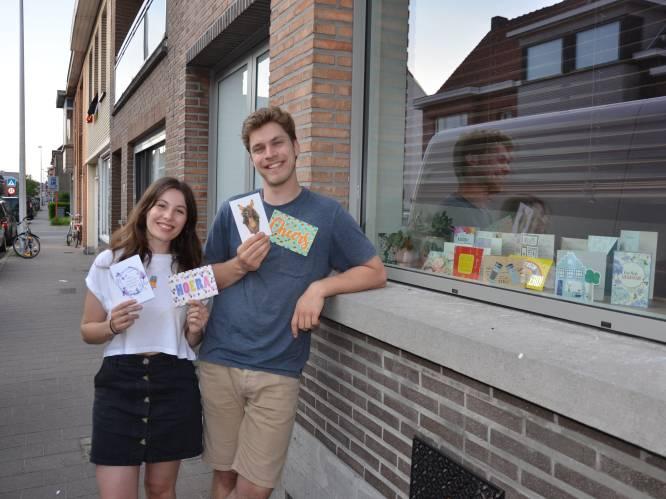 """Antje en Ruben, winnaars van Huis Gemaakt, warm ontvangen in Lokeren: """"Brievenbus puilt uit met lieve kaartjes"""""""