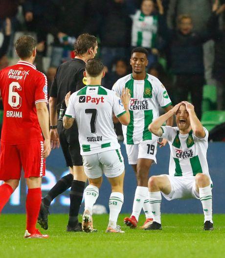 Pröpper over afgekeurde goal FC Groningen: 'Logisch dat er gefloten wordt voor een overtreding'