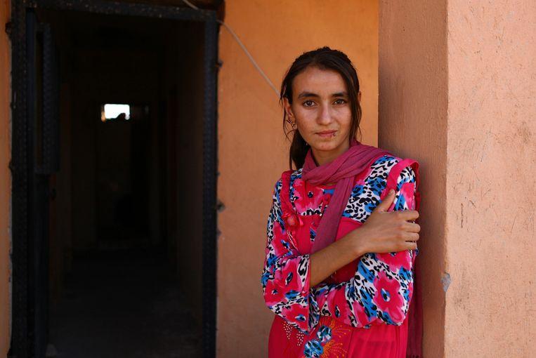 Letterlijk 100 procent van de vrouwen die door IS naar Raqqa werden overgebracht, zijn verkracht. Beeld getty