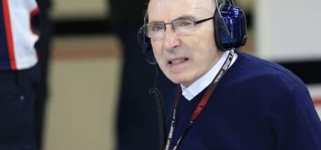 Formule 1-grootheid Frank Williams opgenomen in ziekenhuis