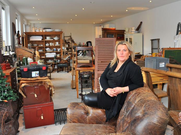 Wendy Keijzers in haar winkel.
