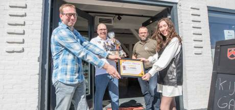Duizend euro voor Bliss to Shine
