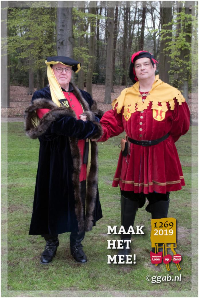 Willem van Horn en hertog Jan I van Brabant.