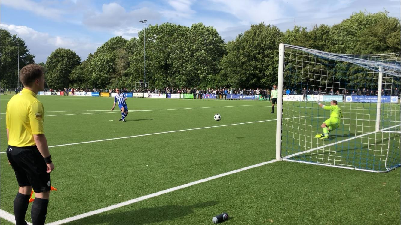 Unicum en Lelystad'67 staan donderdag weer op de penaltystip.