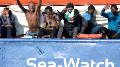 Na 5 dagen akkoord bereikt over verdeling van migranten aan boord van Sea Watch 3