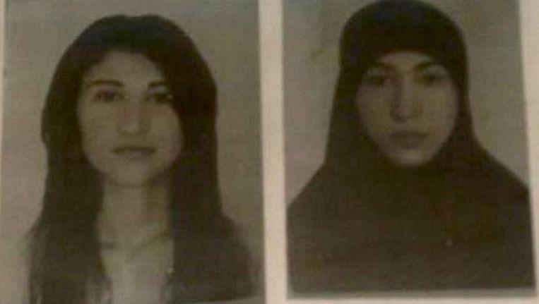 Twee door de Russische geheime dienst RSF verspreide portretfoto's van Ruzanna Ibragimova, ook bekend onder de naam Salima. Beeld RSF