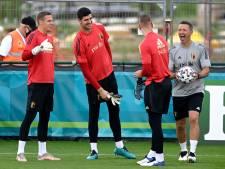 Quinze Diables présents à l'entraînement, les titulaires contre le Portugal à l'intérieur