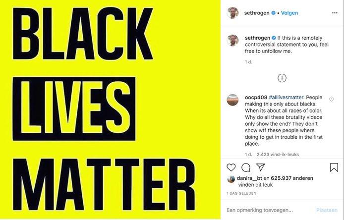 Instagram Seth Rogen