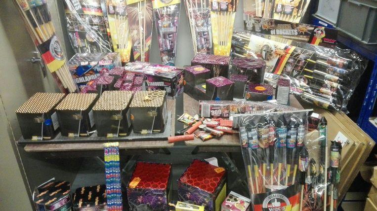 Vorig jaar nam de Zaventemse politie heel wat vuurwerk in beslag.