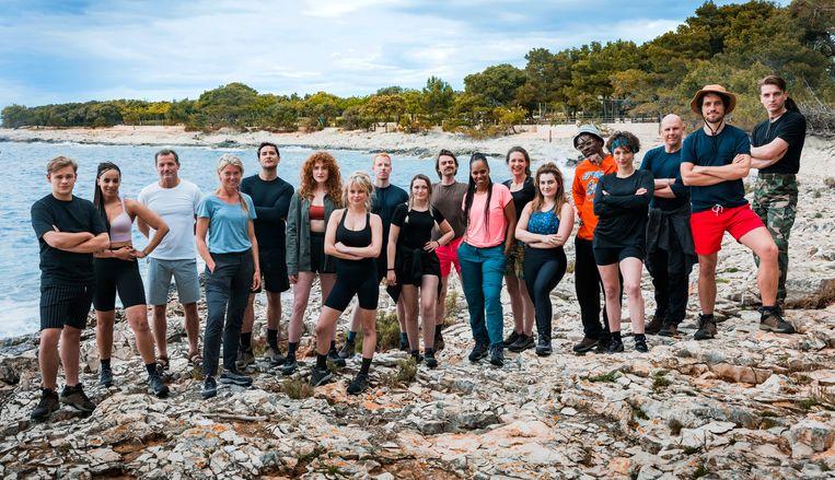 Alle kandidaten Expeditie Robison Beeld RTL / Tom Cornelissen