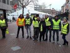 Gele Hesjes in Eindhoven: 'We blijven demonstreren totdat Rutte weg is'