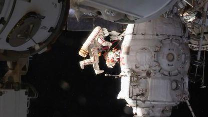 ISS-bemanning naar buiten om mysterieus gaatje te inspecteren