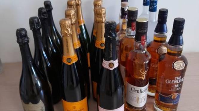 Drie medewerkers stelen maandenlang dure alcoholische dranken ter waarde van 60.000 euro in distriebutiecentrum Delhaize