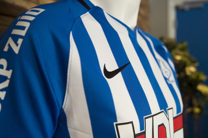 Het nieuwe tenue van FC Eindhoven