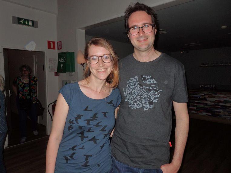 Judith van der Wel schreef een boek over het Concertgebouworkest en De Ridder is ook haar redacteur. Vriend Krispijn Faddegon is mee: 'Judith had me overtuigd.' Beeld Hans van der Beek