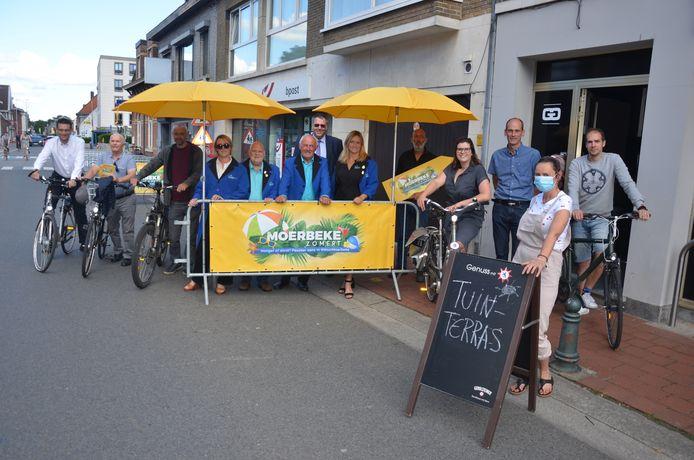 Het startschot voor Moerbeke Zomert werd vorig jaar gegeven in sfeercafé Gigi's.