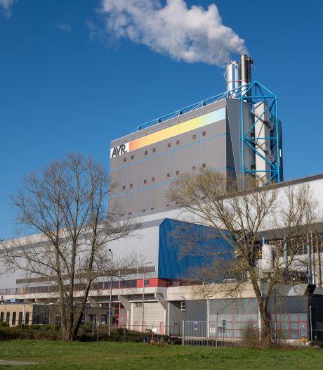 FNV houdt acties bij vuilverbrander AVR tegen importheffing op restafval; banen op de tocht