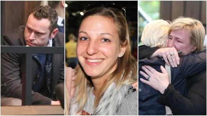 ASSISEN. Davy Kesteman (32) veroordeeld tot 23 jaar opsluiting voor moordende crash met Sharon (22): hof stuurt hem niet meteen naar gevangenis