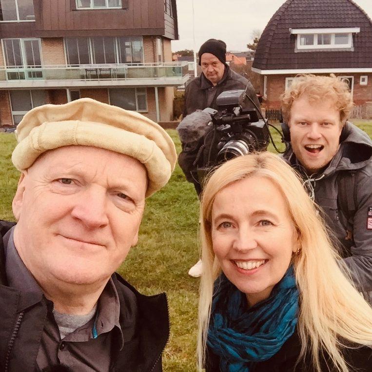 Arnold Karskens en Ybeltje Berckmoes Beeld Ongehoord Nederland