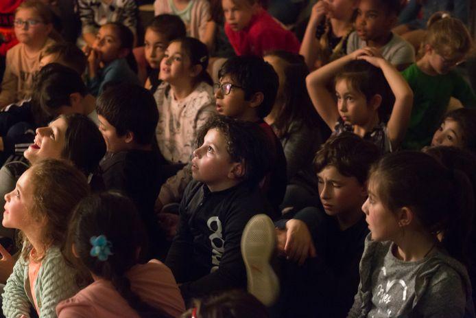 De verhalen in de mysterie klas waren vaak spannend.