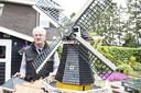 In 2019 bouwde Johan Zwoferink al een miniatuur van de Pelmolen.