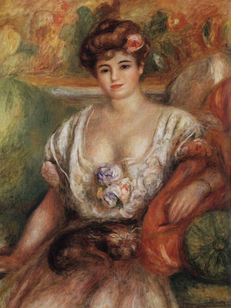 Misia Sert, geschilderd door Renoir. Beeld rv