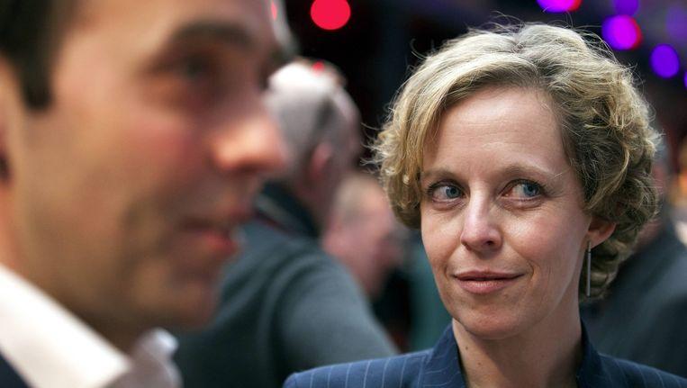 Inga Verhaert, de running mate van Bruno Tobback.