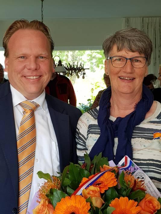 Marlies de Visser-Broere (57, Moerdijk) - Lid in de Orde van Oranje-Nassau
