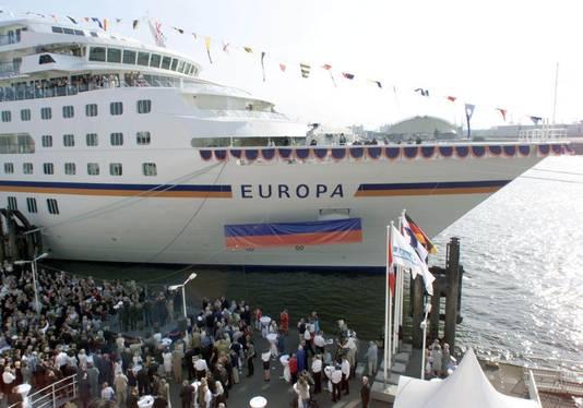 De MS Europa (archieffoto).