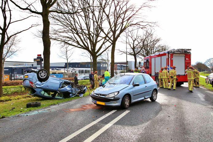 Ongeval Rondweg Bladel