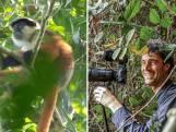 Jaap filmde zeer zeldzame aap als eerste ter wereld