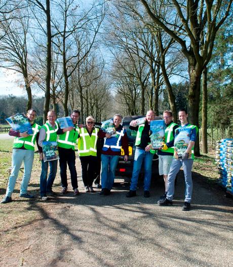 Apeldoorners halen 40.000 zakken compost