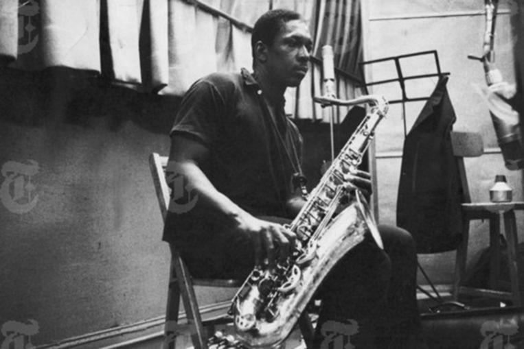 John Coltrane. Beeld rv