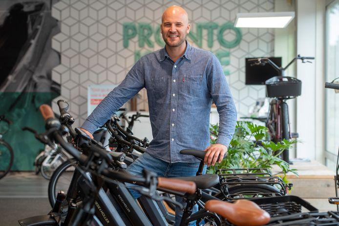 Daan Laseur (35), eigenaar van Pronto in Amersfoort, heeft uitgezaaide galblaaskanker, maar geeft niet op.