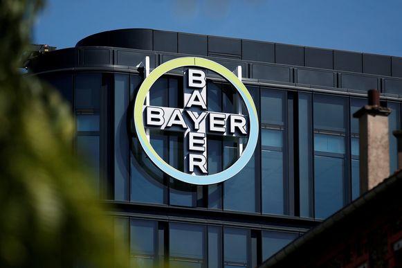 Het hoofdkwartier van Bayer in La Garenne-Colombes bij Parijs.