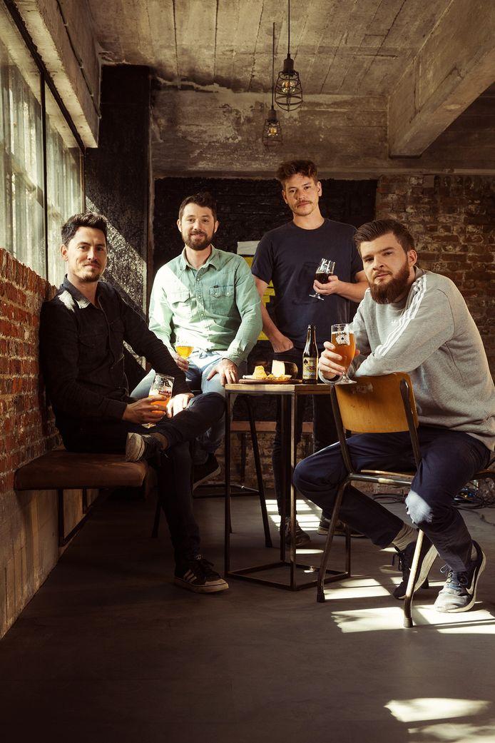 Davy, Uwe, Bavo en Kobe •Eigenaars bierspecialiteitencafé Spéciale Belge •Toekomstplannen: eigen brouwerij met ruimte voor workshops & foodpairing