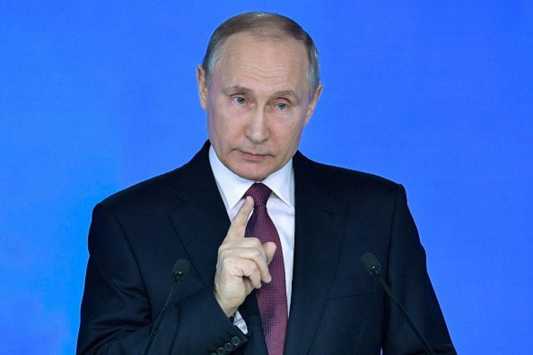 De Russische president Poetin. Beeld TASS