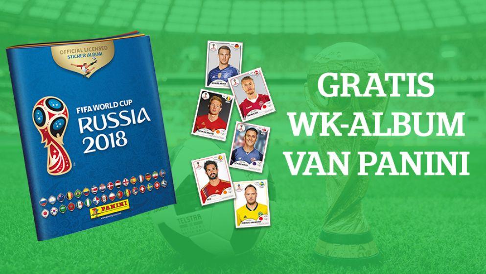 Het Laatste Nieuws laat het WK nu al (k)leven: komende zaterdag GRATIS 2018 FIFA World Cup Panini-album bij de krant