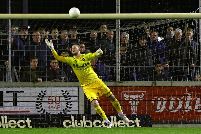Dani Centen tijdens de bekerwedstrijd tegen FC Twente