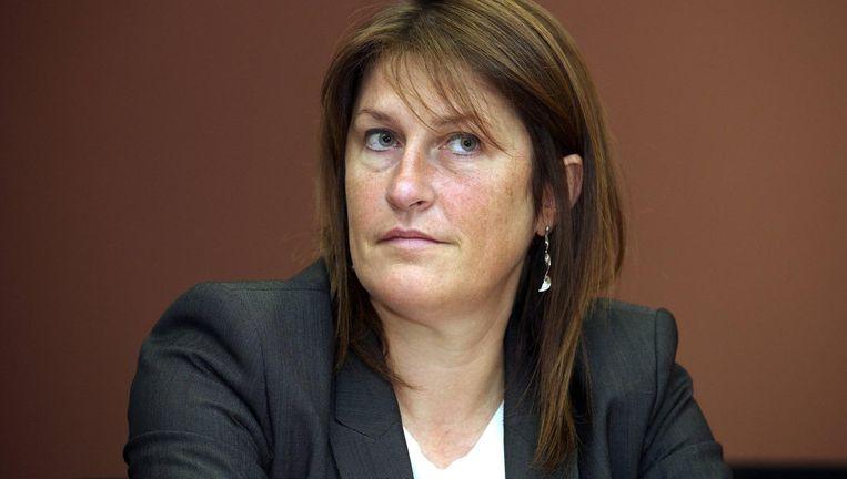 Mobiliteitminister Jacqueline Galant (MR) Beeld RV