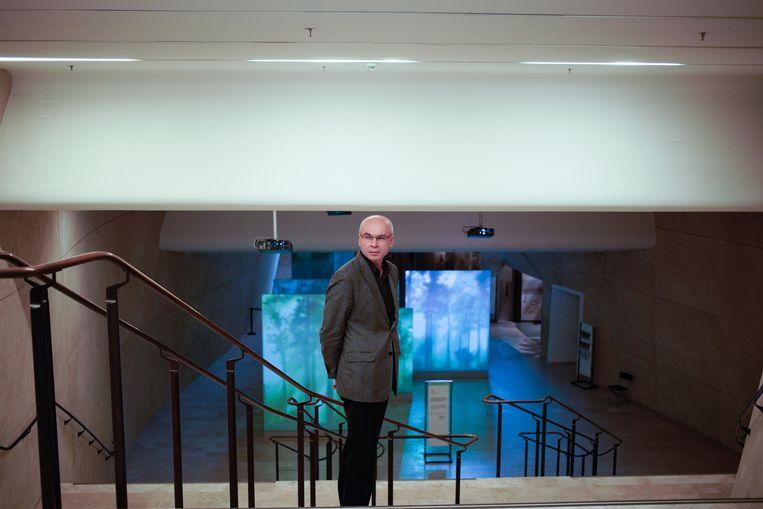 Museumdirecteur Dariusz Stola. Beeld Piotr Malecki
