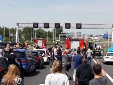 Brandweer over ongeval A4: 'Geef hulpverleners alstublieft de ruimte'