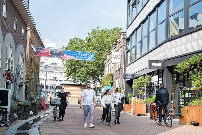 Is hier een fietsverbod nodig om het aantrekkelijker te maken voor voetgangers? Daarover verschillen de meningen.