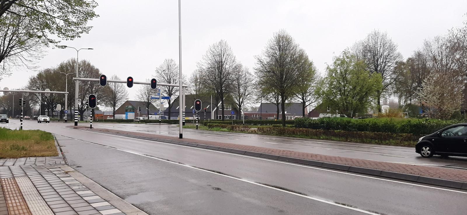 Rijksweg in Dorst.