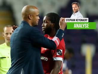 Een recital van Dieu, toch snapt onze chef voetbal dat Kompany twijfelt of Mbokani nog een spits is voor RSCA