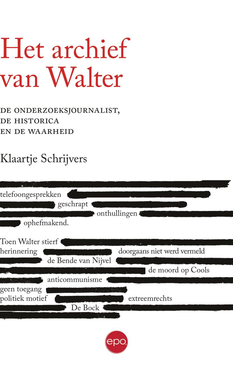 Klaartje Schrijvers, 'Het archief van Walter', EPO, 260p., 20 euro. Beeld rv