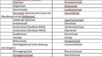Dit zijn de 17 nieuwe straatnamen