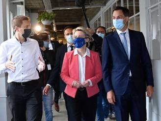 Live. België en EU geven persconferentie over het Belgische relance-plan na corona