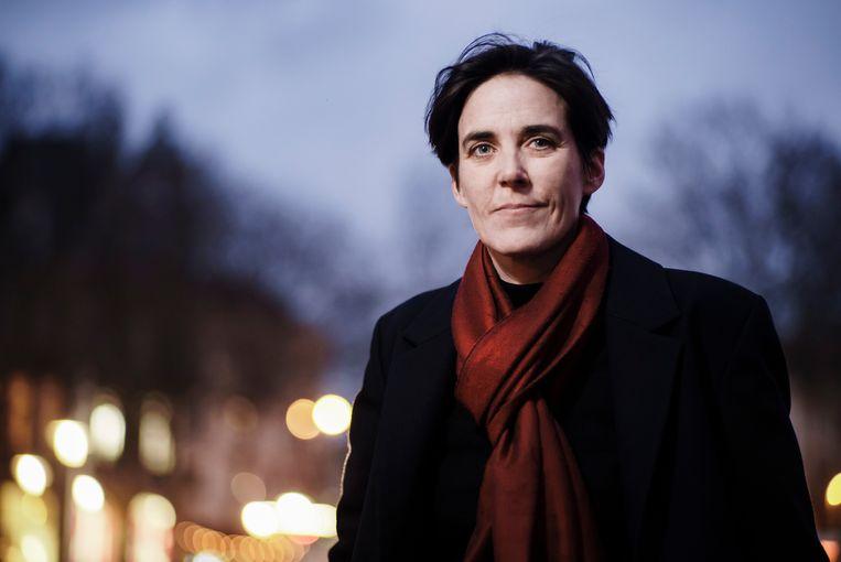 Gaea Schoeters: 'Ik schaam me niet voor een complexe zin van anderhalve pagina.' Beeld Eric de Mildt